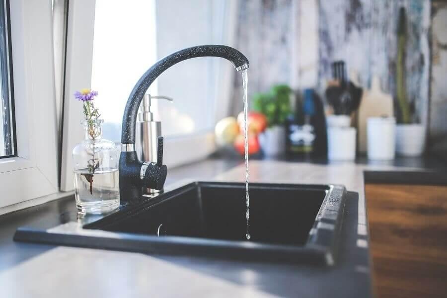 Расположение зоны для мытья посуды