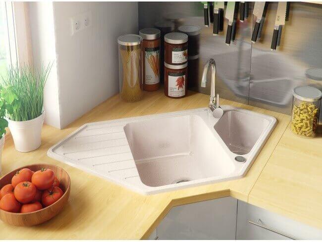 Groovy Zlew w rogu kuchni (narożny) - czy jest praktyczny? XG33
